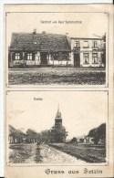 CPA - AK - Gruss Aus Betzin - Kirche - Gasthof Von Paul Sammerfeld - Fehrbellin