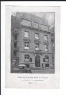 Dept 75. PARIS. 16è Arrdt. Hôtel Du Touring-Club De France. 65 Av. De La Grande Armée. Voir Dos ++ .Petite Animation +. - Arrondissement: 16