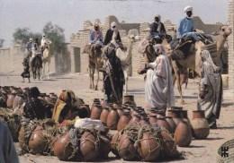 CPM R�publique du Tchad poteries servant au transport de l'eau