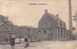 Rexpoede La Distillerie Circulé En 1913 - Postkaarten