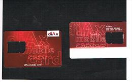 SVIZZERA (SWITZERLAND) -  (GSM SIM) - DIAX  - USED WITHOUT CHIP  -  RIF. 4057 - Svizzera