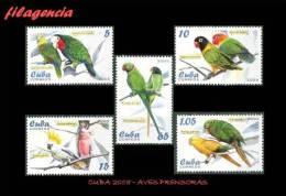 CUBA MINT. 2005-07 FAUNA. AVES PRENSORAS - Cuba