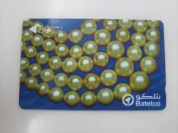 GPT Phonecard,49BAHP Pearls,used - Bahreïn