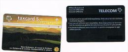 SVIZZERA (SWITZERLAND) - PTT  - 1996 LA SVIZZERA  E' VOSTRA: PAESAGGIO (JURA) CODE 604 H   - USED  -  RIF. 4087 - Svizzera