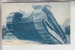 MILITÄR - PANZER - TANK - CHARS - Franz. Panzer Im Manöver, Camp De Sissone - Ausrüstung