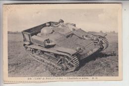 MILITÄR - PANZER / TANK, Franz. Panzer Im Manöver, Camp De Mailly - Ausrüstung