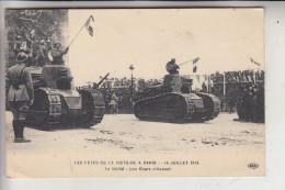 MILITÄR - PANZER / TANK / Chars, Panzer Auf Der Siegesparade Paris 1919 - Ausrüstung