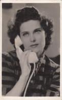 Karády Katalin Hungarian Actress And Singer, Film Scene, Telephone 39 - Entertainers
