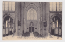 TROYES - N° 191 - L´ EGLISE SAINT URBAIN - LA NEF VUE DU CHOEUR - Troyes