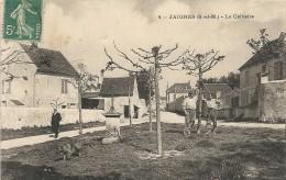 JAIGNES . LE CALVAIRE - France