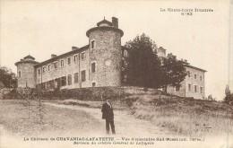 43 Le Château De CHAVAGNAC LAFAYETTE - Vue D'ensemble Sud Ouest - France