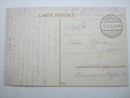1916, HASSELT ,Carte Militaire - WW I