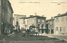 CPA 43 PAULHAGET LA PLACE SAINT ETIENNE JOLI PLAN AUVERGNE ILLUSTREE - Francia