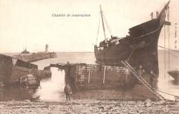 Cpa Cherbourg  Démolition Des Navires   (ref 381 ) - Cherbourg