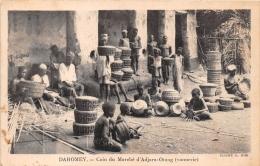¤¤  -   DAHOMEY  -  Coin Du Marché D' ADJARA-OTANG  -  Vannier , Vannerie , Paniers En Osier  -  ¤& - Dahomey
