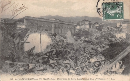 ¤¤  -  46   -  La Catastrophe De MESSINE  -  Panorama Du Corso Garibaldi Et De La Préfecture  -  ¤& - Italia