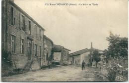 Cpa Ville - Sur - Cousances / La Mairie Et L'Ecole . - Non Classés