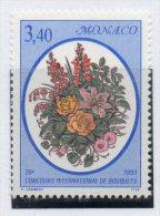 Sello  Nº 1868 Monaco - Plants