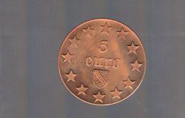 5 EURO De STRASBOURG  . 350 Exemplaires . - Euros Des Villes