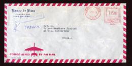 Peru/Switzerland, 1979, Banco De Lima  Cover, - Peru