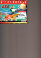D23 - 6 CD ROM PC/MAC - ADI - L INTEGRALE - + De 6000 Exercices Et 40 Jeux- Classe De 6ème 11/12 Ans - CD