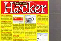 D23 - CD Rom HACKER Universal - Plus De 400 Programmes - Numéro 1 - CD