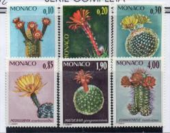 Serie  Nº 997/1002  Monaco - Cactus