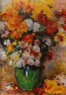 D23 - PUZZLE - Bouquet De Chrysanthèmes - Auguste Renoir - 500 Pièces - - Autres Collections
