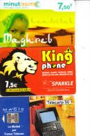 D22 - LOT DE 4 TELECARTES - - Phonecards