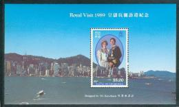 Bloc De China Chine : (11) 1989 Hong Kong -  Visite Royale SG MS630** - 1997-... Sonderverwaltungszone Der China