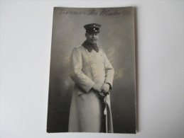 AK / Fotokarte 1914 Pionier / Höherer Soldat In Uniform - Personajes