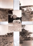 5X RP  FIVE UNIDENTIFIED AFRICA POSTCARDS UNKNOWN LOCATION Who Knows ? Kenya Uganda ? British East Africa BEA - Postcards
