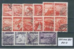 SATZ ANK. 847 - 862 Gestempelt Siehe Scan - 1945-60 Used