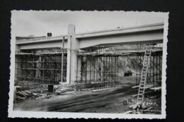 LOT 5 PHOTO PONT EN CONSTRUCTION PASSERELLE DE TUBIE 1949 - Photos