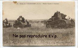 - 31 - Militaria - Camp De VALDAHON - Petits ( Chars ), Tanks à L´assaut, écrite En 1927, BE, Scans. - France