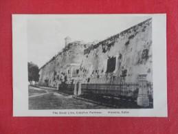 Havana Cuba  The Dead Line Cabanas Fortress   Not Mailed    Ref 1239 - Cuba