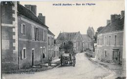 CPA PIACE - RUE DE L'EGLISE - France