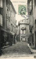 61     LARGENTIERE     -    PLACE   DE  LA  LIGNE - Largentiere