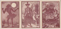 21267Mg LUC & VIGNERON - Série QUELQUES POLICHINELLES - Pochette 12 Cartes - Illustrateurs & Photographes