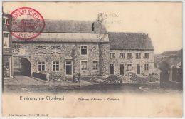 21257g CHATEAU D' AISEAU - Châtelet - 1909 - Chocolat Ruelle - Châtelet