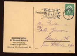 D.R.Dienst Nr.134,EF In Hamburg (6075) - Dienstpost
