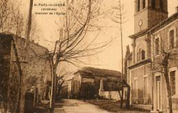 61        ST  PAUL  LE  JEUNE     -    QUARTIER   DE   EGLISE - France