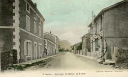 61            FLAVIAC       -      GROUPE  SCOLAIRE  ET  POSTE - France