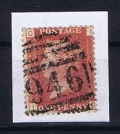 Great Britain SG  43 Used  Plate 114  Yvert 12 - 1840-1901 (Regina Victoria)
