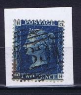 Great Britain SG  47 , Yv Nr 15 Used Plate 14 - 1840-1901 (Viktoria)