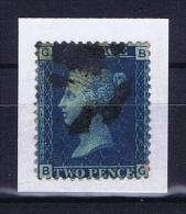 Great Britain SG  47 , Yv Nr 15 Used Plate 15 - 1840-1901 (Viktoria)