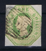 Great Britain SG  54 , Yv Nr 7 Used, Has A Vert Fold - Gebruikt