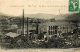 61            FLAVIAC       -         USINE  DE  PAPIER  SENSIBLE - France