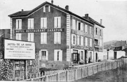 61            VALS  LES  BAINS    -    HOTEL  DE  LA  GARE  SABATON - Vals Les Bains