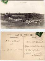 Vue De CHARAIX - Commune SAINT CHRISTOPHE Et LE LARIS  -E - Rare Cachet Perlé  (Indice 6) (65352) - Autres Communes